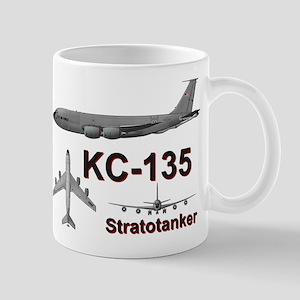KC-135 Stratotanker Refueling B-52 Mug