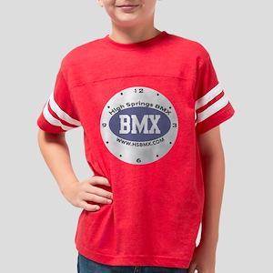 CLOCK2400p1clk Youth Football Shirt