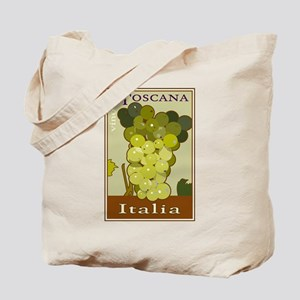 Wines of Tuscany, Italy Tote Bag