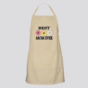 BEST MOM EVER WITH FLOWERS Apron