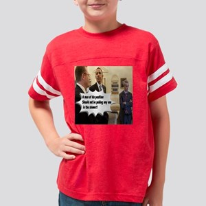 Shower Power Youth Football Shirt