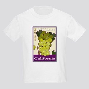 Wines of the Napa Valley, Cal Kids T-Shirt