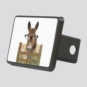 Humorous Smart Ass Donkey Painting Rectangular Hit