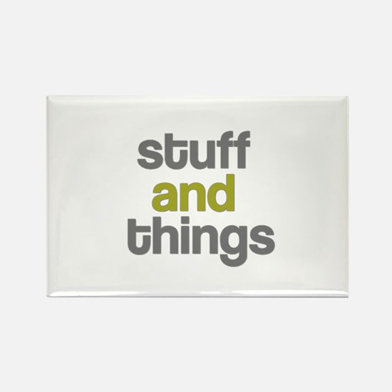 Stuff Thangs Rectangle Magnet (10 pack)