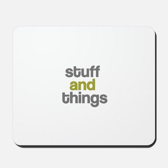 Stuff Thangs Mousepad