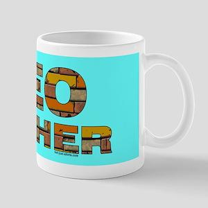 Geocacher Bricks Mug