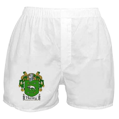 Hanley Coat of Arms Boxer Shorts