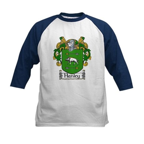Hanley Coat of Arms Kids Baseball Jersey