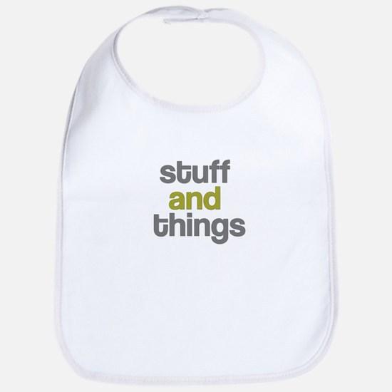 Stuff Thangs Bib