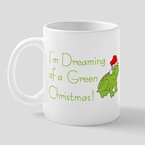 Dreaming of a Green Xmas Mug