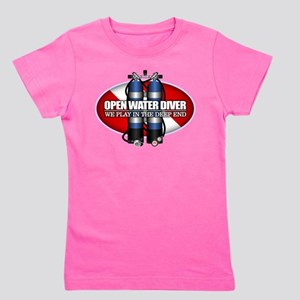 Open Water Diver (Scuba Tanks) T-Shirt
