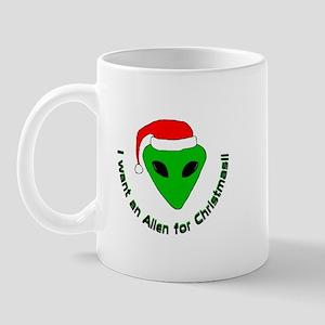 Christmas Alien Mug