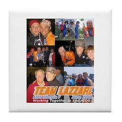 Team Lazzari Tile Coaster