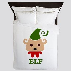Happy Elf Queen Duvet