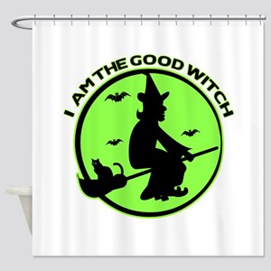 Good Witch Shower Curtain