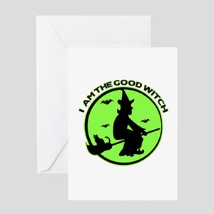 Good Witch Greeting Card