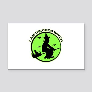 Good Witch Rectangle Car Magnet
