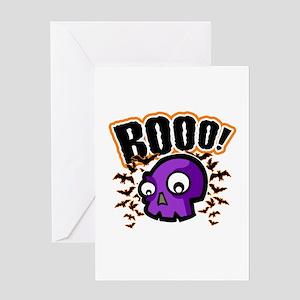 Novelty Booo! Halloween Greeting Card
