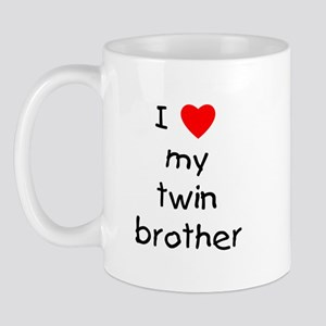 I love my twin brother Mug