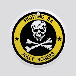 VF-84 Jolly Rogers Ornament (Round)