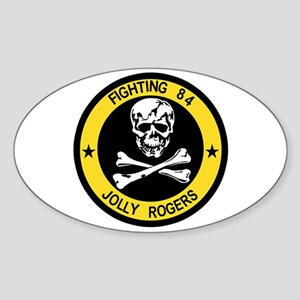 VF-84 Jolly Rogers Oval Sticker