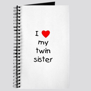 I love my twin sister Journal