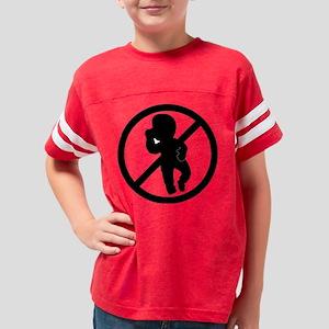 logo_antibaby_black_1400px_20 Youth Football Shirt