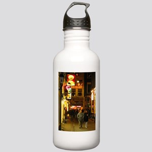 Red Light District Amsterdam Water Bottle