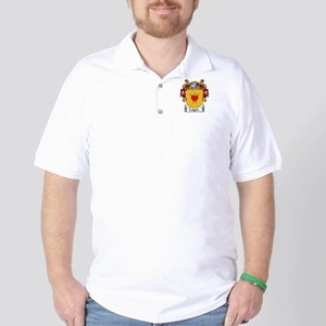 Logan Coat of Arms Golf Shirt