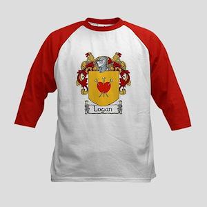 Logan Coat of Arms Kids Baseball Jersey