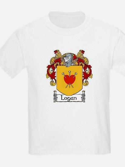 Logan Coat of Arms Kids T-Shirt