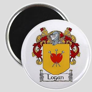 """Logan Coat of Arms 2.25"""" Magnet (10 pack)"""
