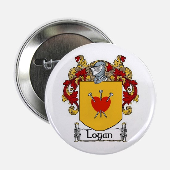 "Logan Coat of Arms 2.25"" Button (10 pack)"