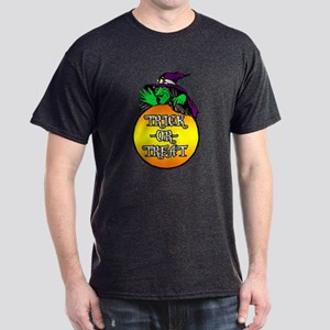 Witch Trick Or Treat Dark T-Shirt