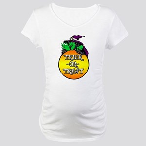Witch Trick Or Treat Maternity T-Shirt