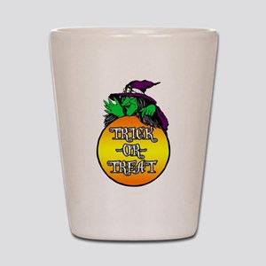 Witch Trick Or Treat Shot Glass