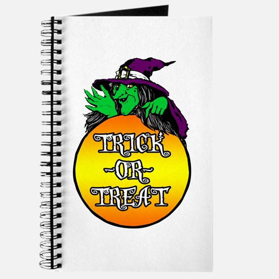 Witch Trick Or Treat Journal