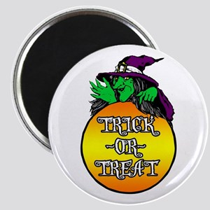 Witch Trick Or Treat Magnet