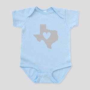 Heart Texas Infant Bodysuit