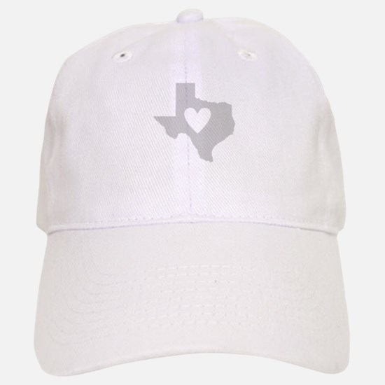 Heart Texas Baseball Baseball Cap