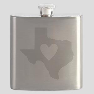 Heart Texas Flask