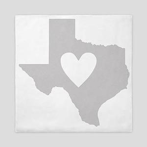 Heart Texas Queen Duvet