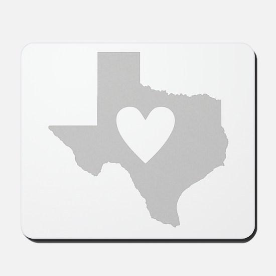 Heart Texas Mousepad