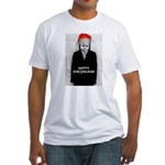 Happy Chrismukah! Fitted T-Shirt