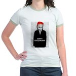Happy Chrismukah! Jr. Ringer T-Shirt