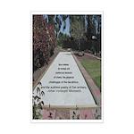 Bocce Zen Mini-Poster