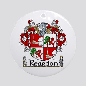 Reardon Coat of Arms Ornament (Round)