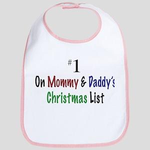 #1 On Christmas List Bib