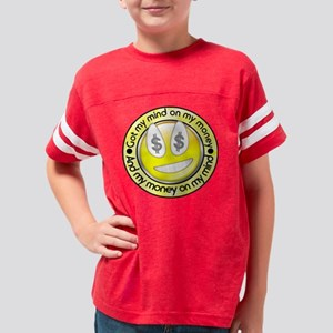 mind on my money Youth Football Shirt
