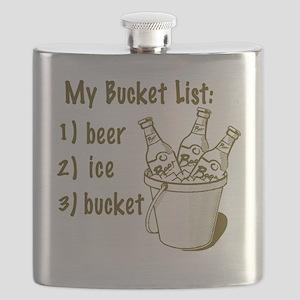 My Beer Bucket List Flask